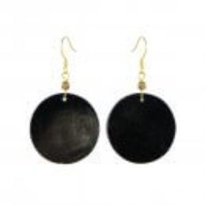 Sseko Cowhorn Circle Earrings